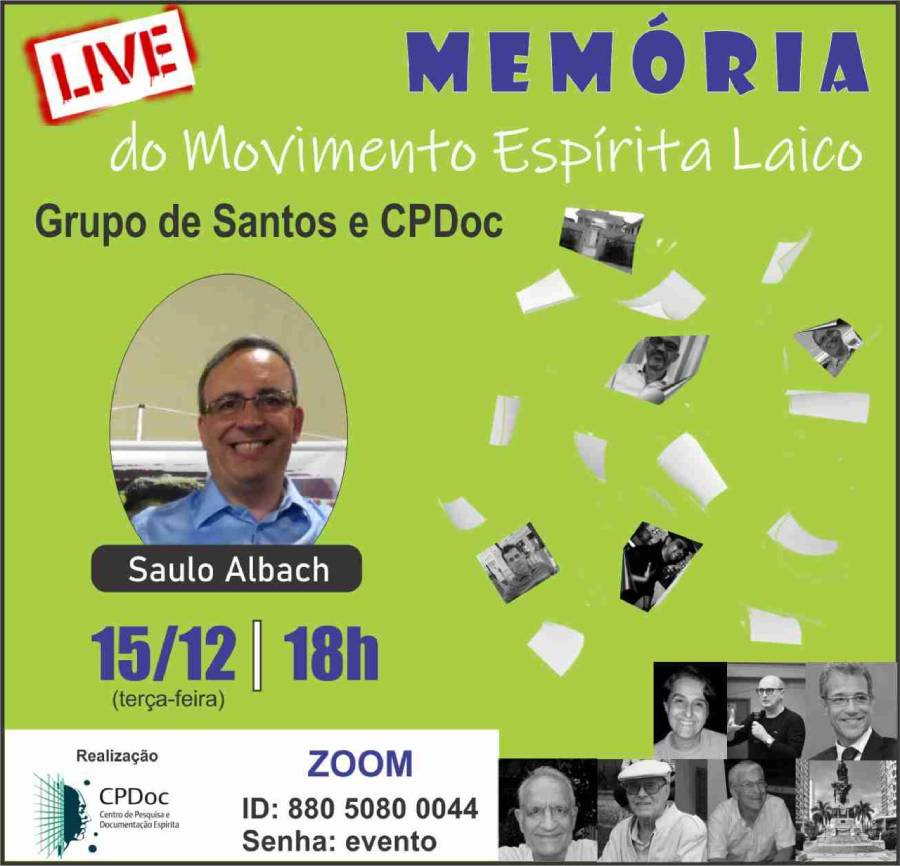 memoria do movimento espirita laico