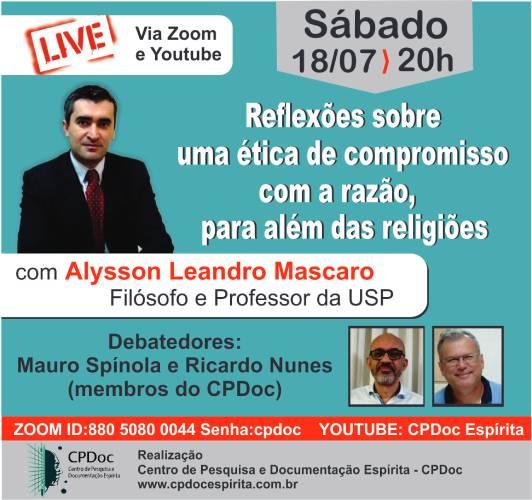 Live com Alysson Leandro